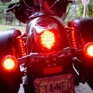 New CD 120 LED Taillight, Vstar 950