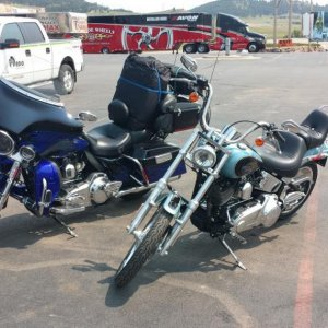 2011 CVO and 2007 Softail