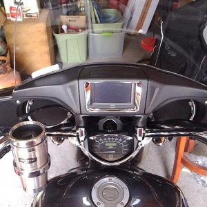Flame ISO grips, throttle assist, Drink holder
