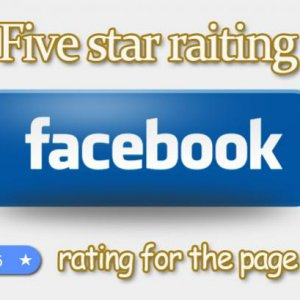 Buy positive reviews from real people to the page on the Facebook.  Increase the number of loyal audience and boost rating of the page on the Facebook