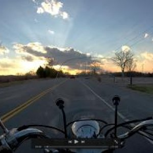 Sunset Ride, South Nashville TN.